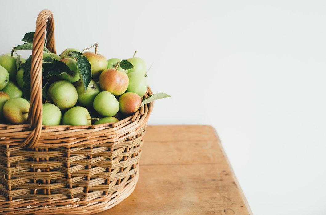 pommes panier choisir ses pommes